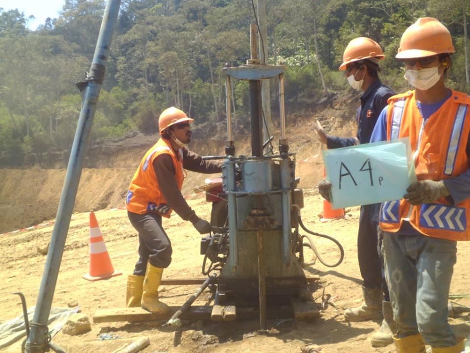 Pt Geosindo Utama Jasa Soil Investigasi Dan Topography Jasa Soil Test Investigation Soil Jasa Sondir Boring Spt Pengambilan Uds Dcp Sand Cone Vane Shear Perusahaan Kontraktor