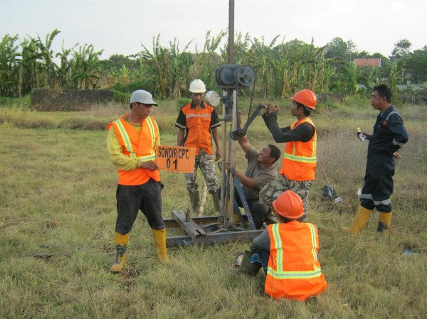 Cone Penetration Test Sondir Pt Geosindo Utama
