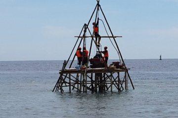 Soil Test di Sungai/Laut